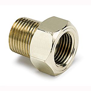 "Autometer Adapters & Fittings Temperature Adapters 3/8"" Npt Temp Adapter Accessories"