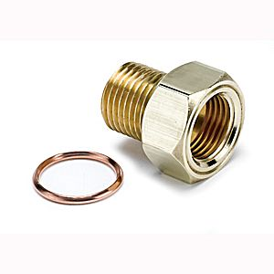 """Autometer Adapters & Fittings Metric Adapters Oil Pressure 1/8"""" NPT to M16x1.5 Accessories"""