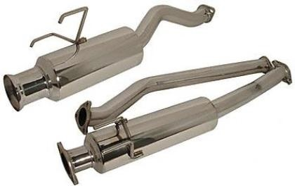 "Injen 2013 Dodge Dart 1.4L (t) Catback Stainless Steel Single Outlet 3"" Race Inspired Exhaust"