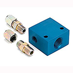 Autometer Adapters & Fittings Temperature Manifolds Temperature Manifold Adapter