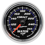 "Autometer Cobalt Full Sweep Electric Water Temperature gauge 2 1/16"" (52.4mm)"
