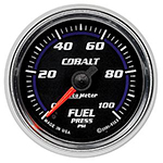 "Autometer Cobalt Full Sweep Electric Fuel Pressure gauge 2 1/16"" (52.4mm)"