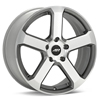 "American Racing AR896 18"" Machined w/Anthracite Accent Rims Set of 4"