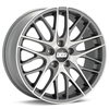 "BBS CS5 19"" Machined w/Anthracite Accent Rims Set of 4"
