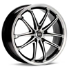 "Enkei Performance G5 18"" Machined w/Black Accent Rims Set of 4"