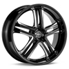 "Enkei Performance AKP 18"" Black Painted Rims Set of 4"