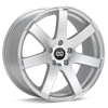 "Enkei Performance BR7 18"" Silver Machined w/Clearcoat Rims Set of 4"