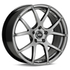 "Enkei Performance M52 18"" Hyper Black Rims Set of 4"